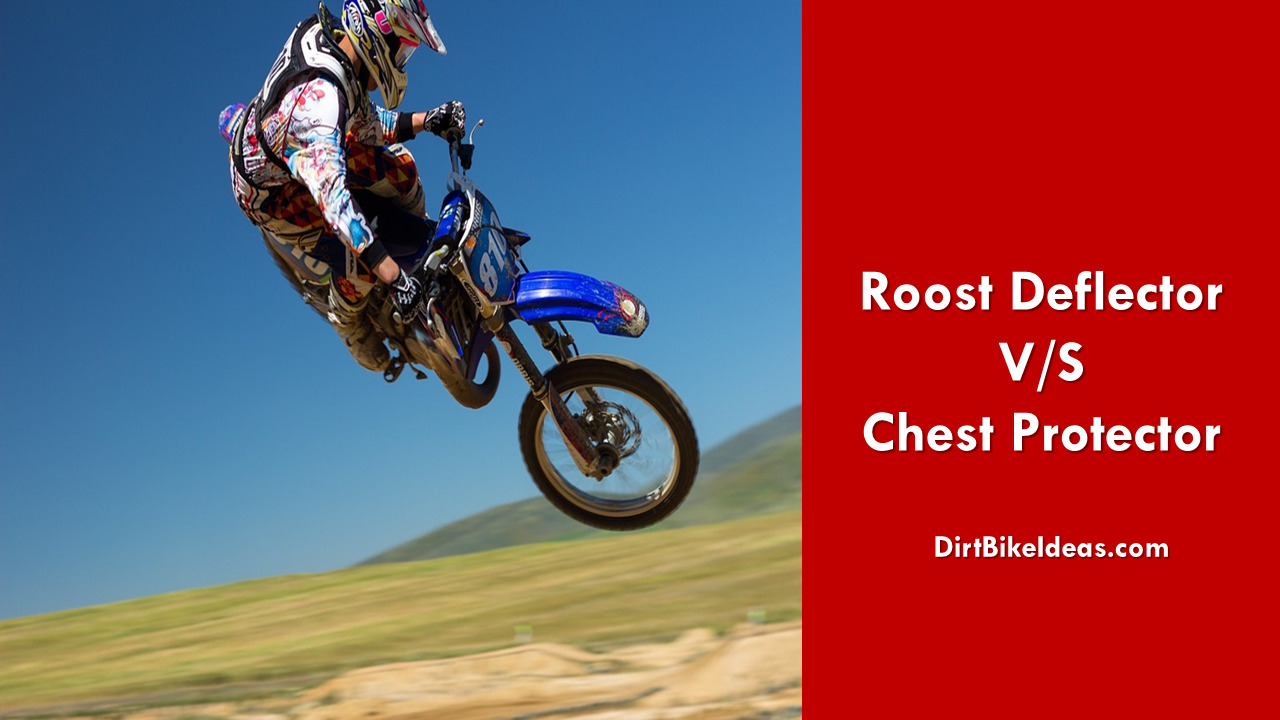 Roost Deflector And Chest Protector
